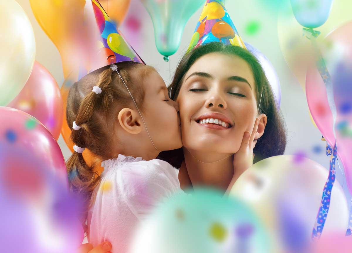 дочь и мать счастливы вместе
