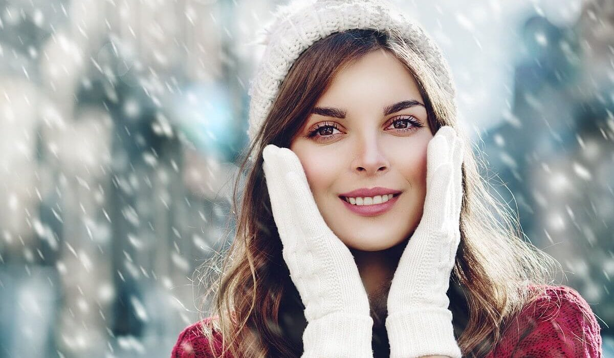 Уход за кожей лица в зимнее время